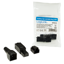 LogiLink® Field Assembly RJ45 Plug Cat.6A 10GE, unshielded, EconLine