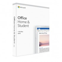 Microsoft Office 2019 Home & Student Medialess (Mac/PC)