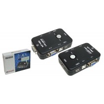 KVM Switch (2-port) USB 2.0