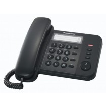 Panasonic KX-TS520EX1B Black Corded Telephone Set