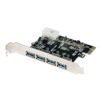 LogiLink® PCI Express Card, 4x USB 3.0