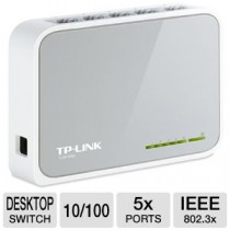 5-Port 10/100Mbps Desktop Switch TL-SF1005D