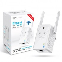 TL-WA860RE(UK) 300Mbps Wi-Fi Range Extender with AC Passthrough TL-WA860RE