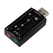 LogiLink® USB Soundcard with Virtual 7.1 Soundeffects