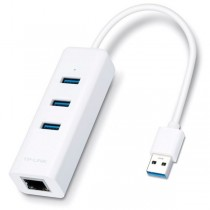 TP-Link USB 3.0 to Gigabit Ethernet Adapter with 3-Port USB Hub